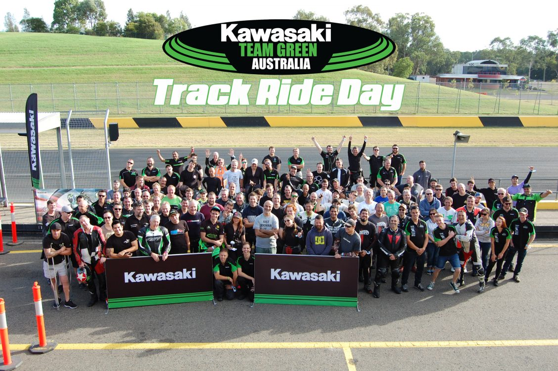 Kawasaki Team Green Day @ Morgan Park – Non-Kawasaki rider