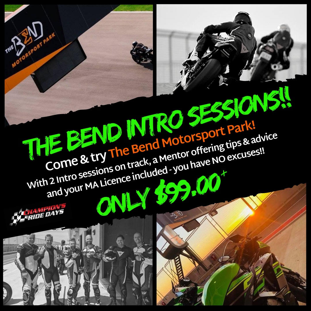 The Bend Motorsport Park **INTRO SESSION ONLY**